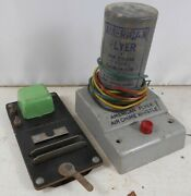 Vintage 1950's American Flyer Air Chime Whistle And 706 Uncoupler