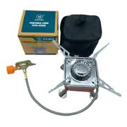 Mini Outdoor Gas Stove Picnic Camping Butane Jet Gas Cooking Hiking A. U3r3