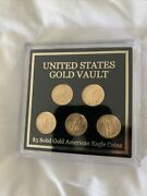 United States Gold Eagle 5 Coins Set Of 5