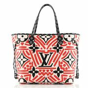 Louis Vuitton Neverfull Nm Tote Limited Edition Crafty Monogram Giant Mm