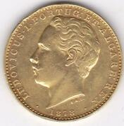 1878 Portugal Gold Coin 10000 Reis 1878 Ludovicus I