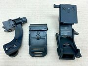 New Genuine Usgi Norotos Nvg Rhino Mount With Front Bracket And J-arm Adapter.