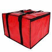 Extra Large Commercial Insulated Pizza Delivery Transport Bag Food Warmer Bags