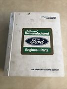 1975-96 Ford Dealership Remanufactured Car And Truck Parts Book Dated 7/1/98