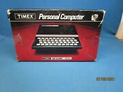 Timex Sinclair 1000 Personal Computer Untested Complete Comes In Original Box
