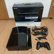 Sony Playstation3 Cecha00 60gb Early Type [operation Confirmed] [japan Model]