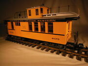 4175 Lgb Dandrgw Drovers Caboose Metal Wheels Lights G Scale
