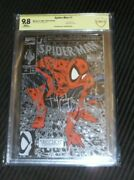 Spiderman 1 Cbcs 9.8 Silver Edition Signed Todd Mcfarlane Autograph