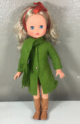 Vintage Furga Doll Made In Italy 17 Inch