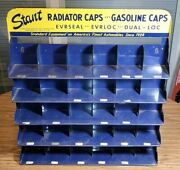 """Vintage Stant Radiator And Gasolie Caps Service Station Display 22"""""""