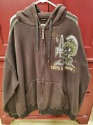 Lot 29 Looney Tunes Marvin The Martian Full Zip Hoodie - Size 3xl