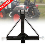 3 Point 2 Receiver Trailer Hitch Drawbar Category 1 Tractor For Kubota Yanmar
