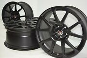 19 Cadillac Cts-v Coupe Factory Oem Gm Wheels Rims Cts Black 4647 4648