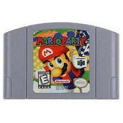 Mario Party Video Game Cartridge For Nintendo 64 N64 Game Console Us Version