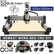 1515 Newest Work-bee Cnc Wood Router Machine Kit Precise T8 Leadscrew Drive