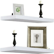 Floating Shelf Large 24 X 9 Hanging Wall Shelves Decoration Perfect Display