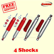 Rs9000xl Frontandrear 5-6 Lift Shocks For Chevy Avalanche 2500 4wd 02-06 Rancho