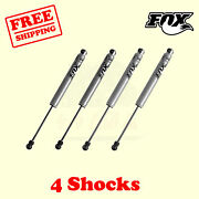 Shocks Front 3-4.5 And Rear 2.5-3.5 Lift For Jeep Wrangler Tj / Lj 1997-06 Fox