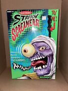 New Electronic Stretch Screamers Mummy Manley Toy Quest Rare Vintage In Box 2001