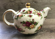 Royal Doulton Albert Old Country Roses Large Teapot 1998 New