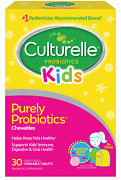 Culturelle Kids Probiotic Chewables Supports Immune And Digestive Health Berry