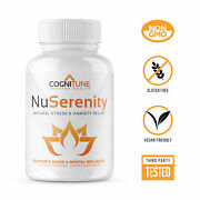 Nu Serenity - Natural Stress And Anxiety Relief Supplement With B Vitamins Ashw