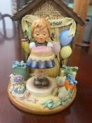 Hummel Goebel Happy Birthday Hummelscape 925d And Sweet As Can Be Set 541