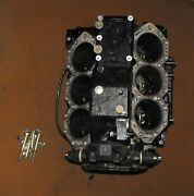Evinrude 150 Hp 2 Stroke Cylinder And Crankcase Assy Pn 5000822 Fits 2002-2006