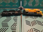 Cat Caterpillar Construction Battery Operated Train Set Toy Tested Works 2c