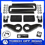 3 Front And 1.5 Rear Lift Kit 2011-2019 Gmc Chevy 2500hd 3500hd 2wd 4wd