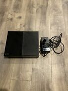 Microsoft Xbox One Day One Edition 500gb Black Console With Power Cord