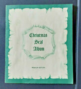 Christmas Seal Album Collection From 1907 Through 1968 Plus Foreign Collection