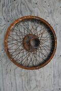 1910and039s 1920and039s Antique Vintage Brass Era 26 Wire Wheel Houk Hayes