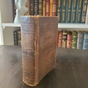 Antique 1884 Holy Bible Printed By American Bible Society New York Very Fragile