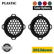 Advanblack X Xbs Color Match Hex Speaker Grills For 13down Street Electric Glide