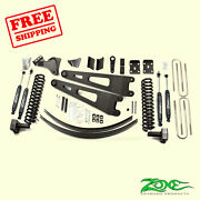 6 Front And Rear Radius Arm Suspension Lift Kit For Ford F350 4wd 2008-10 Zone