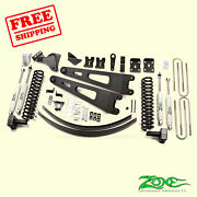 6 Front And Rear Radius Arm Suspension Lift Kit Fits Ford F350 4wd 2008-10 Zone
