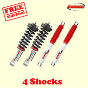Kit 4 2.5 Front And Rear Strut Rs5000x Shocks For Ford F-150 04-08 Rancho