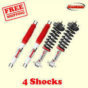 Kit 4 Front And Rear Strut Rs5000 Shocks For Chevrolet Tahoe 07-13 Rancho