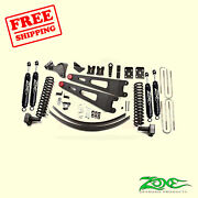 6 Front And Rear Radius Arm Suspension Lift Kit For Ford F350 4wd 2008-2010 Zone