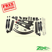 6 Front And Rear Radius Arm Suspension Lift Kit For Ford F250 4wd 2008-2010 Zone