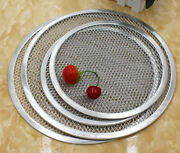 Pizza Screen Bakeware Aluminum Thickened Commercial Grilling Mesh Tool