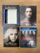 Les Miserables Deluxe Edition Blu-ray/dvd, 2013, 3-disc Set - Ships Same Day