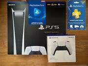 Sony Ps5 Playstation 5 Digital Game Console ✅new ✈️ Fast Same Day Ship
