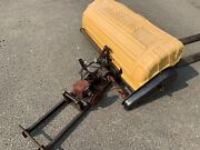 Sweepster Rotary Broom Garden Tractor Mower Attachment Wheel Horse