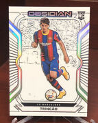2020-21 Panini Obsidian Soccer Trincao Electric Etch Contra Ssp And039d /9 Barcelona