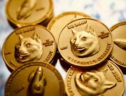 Custom Gold Dogecoin Coin Commemorative Coins 1.5inches In Girthandnbsp