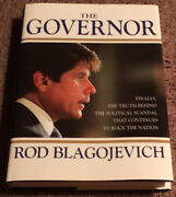 Signed The Governor By Rod Blagojevich Autographed First Edition Book Rare
