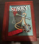 Sorry Vintage Collection Wooden Library Book Shelf Wood Box New Openbox