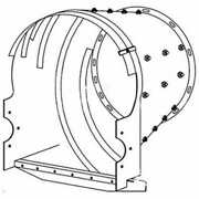 Rotor Transition Cone Fits Case Ih 2188 2388 1688 1680 Fits International 1480